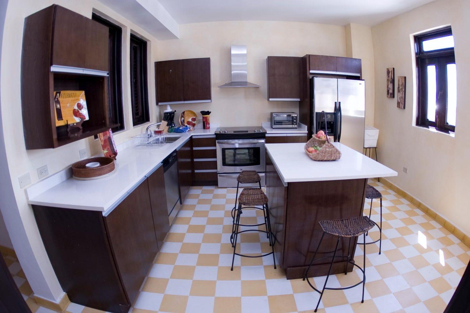 La Terraza de San Juan kitchen suites - La Terraza de San Juan