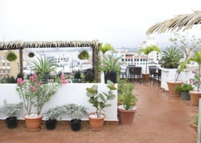 La terraza hotel san juan la terraza escaleras